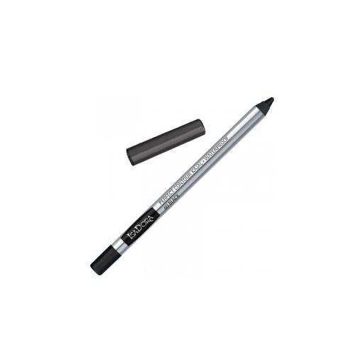 Карандаш для глаз `ISADORA` PERFECT CONTOUR KAJAL WATERPROOF тон 60 водостойкийКарандаши<br>Очень мягкий контурный карандаш для глаз. Водостойкий. Можно использовать для внутреннего контура. Не содержит ароматизаторов<br>