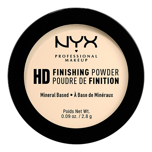 Пудра компактная для лица `NYX PROFESSIONAL MAKEUP` HIGH DEFINITION FINISHING POWDER мини тон 02 Banana