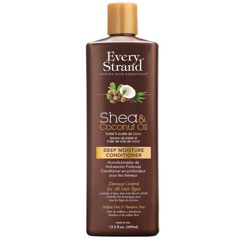 Купить Кондиционер для волос EVERY STRAND с кокосовым маслом и маслом ши 399 мл, США/ USA
