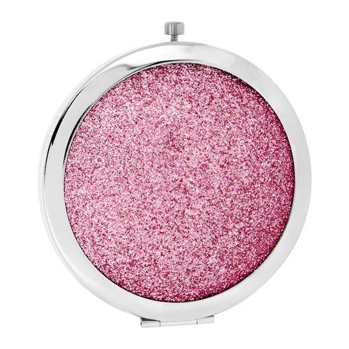 Купить Зеркало для макияжа DE.CO. карманное pink shine, КИТАЙ/ CHINA