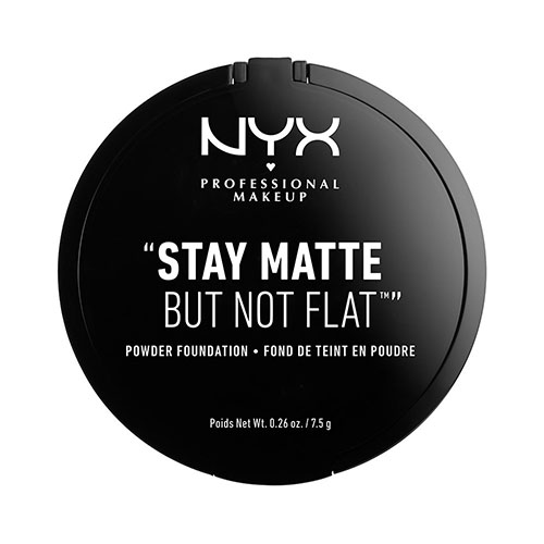 Пудра компактная для лица `NYX PROFESSIONAL MAKEUP` STAY MATTE BUT NOT FLAT тон 06 Medium Beige