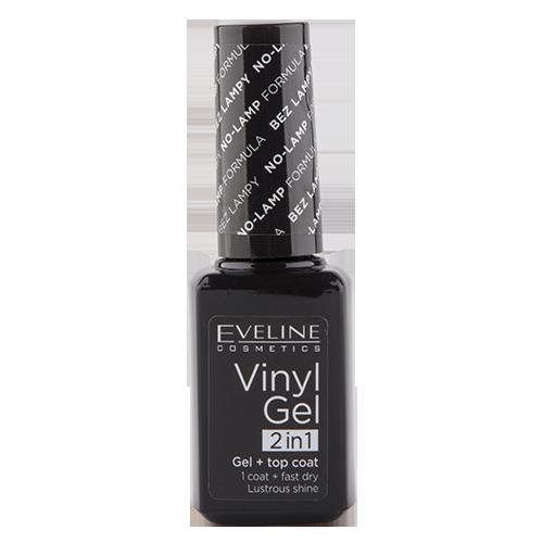 Купить Лак для ногтей EVELINE VINYL GEL 2 IN 1 тон 211 без использования лампы 12 мл, ПОЛЬША/ POLAND