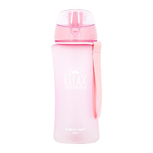 Купить Бутылка для воды FUN RELAX Pink матовая 480 мл, КИТАЙ/ CHINA