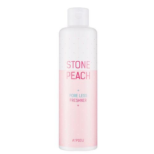 Тоник для лица `A`PIEU` STONE PEACH для сужения пор 250 млДля проблемной кожи<br>Входящий в состав тоника экстракт корней пиона имеет антиоксидантное действие, питает и увлажняет кожу, сужает поры, выравнивает ее структуру, придавая гладкость и здоровый вид. Глубокое очищение пор способствует улучшению кислотно-щелочного баланса кожи, запускает процессы регенерации и омоложения. Хондрус курчавый (Chondrus crispus) богатый органическими кислотами, ферментами и витаминами, необходимыми для улучшения обменных процессов кожи, повышает ее упругость и эластичность.<br>