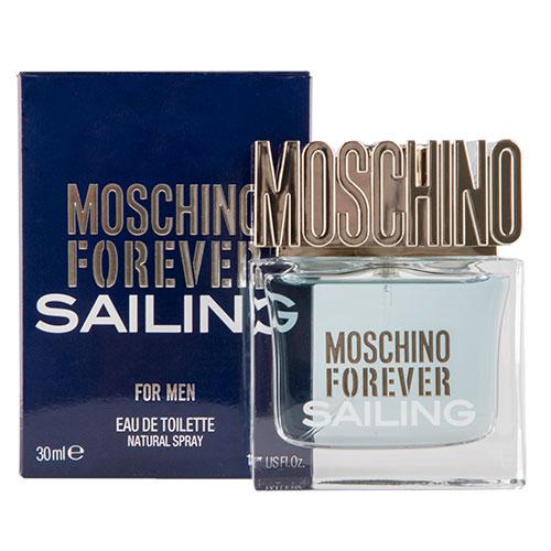 Туалетная вода `MOSCHINO` FOREVER SAILING (муж.) 30 млМужская<br>Это уникальное сочетание классических нот и ярких оттенков. Аромат вдохновлен хождением под парусами. Свежий как морской бриз, полный энергии и страсти. Для мужчин, которые всегда находятся в движении, исследуют, покоряют. Moschino Forever Sailing продолжает историю успеха первого мужского аромата Moschino Uomo. Аромат отражает силу и индивидуальность современного мужчины.<br>