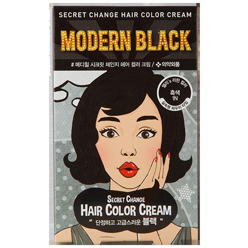 Купить Крем-краска для волос MEDIHEAL SECRET HAIR Modern black, РЕСПУБЛИКА КОРЕЯ/ REPUBLIC OF KOREA