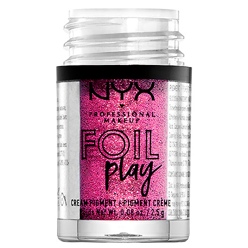 Пигмент для век `NYX PROFESSIONAL MAKEUP` FOIL PLAY кремовый тон 02