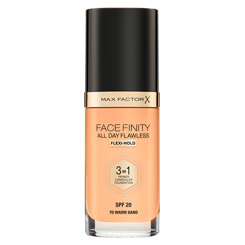 Основа тональная для лица `MAX FACTOR` FACEFINITY ALL DAY FLAWLESS 3 в 1 тон 70