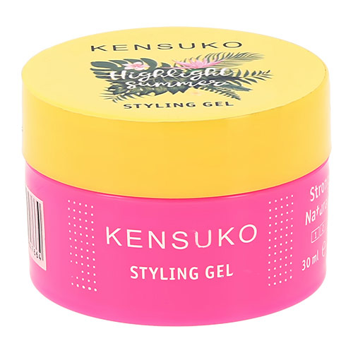 Гель для укладки волос KENSUKO HIGHLIGHT SUMMER сильной фиксации 30 мл