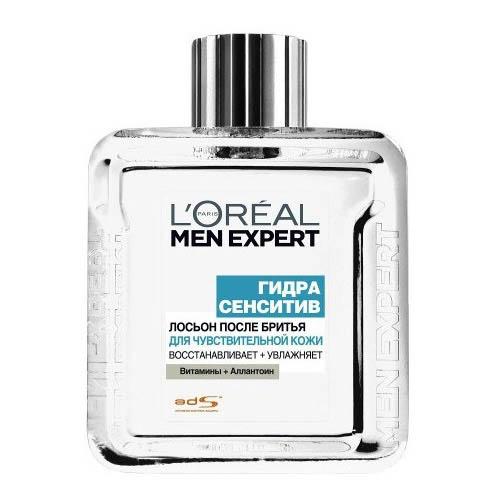Лосьон после бритья LOREAL MEN EXPERT ГИДРА СЕНСИТИВ Восстанавливает и увлажняет для чувствительной кожи 100 мл