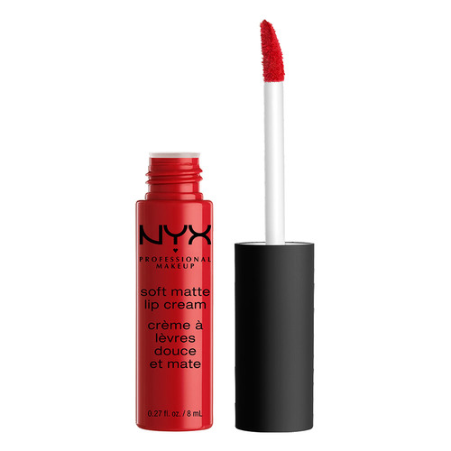 Помада для губ `NYX PROFESSIONAL MAKEUP` SOFT MATTE LIP CREAM тон 01 Amsterdam матовая жидкая