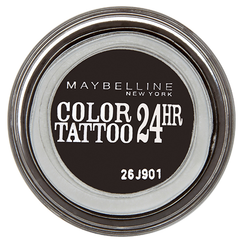 Тени для век `MAYBELLINE` COLOR TATTOO 24 HR кремообразные тон 60 (Бессм. Черн)