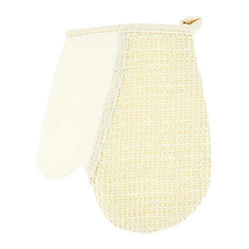 Купить Мочалка-рукавица для тела DE.CO. натуральная лен, КИТАЙ/ CHINA