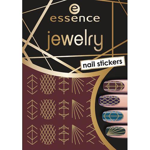 Наклейки для ногтей ESSENCE JEWELRY NAIL STICKERS тон 09