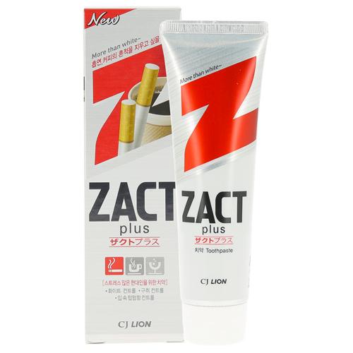 Паста зубная LION ZACT PLUS Отбеливающая для курящих 150 г фото