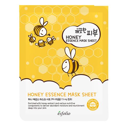 Маска для лица `ESFOLIO` медовая 25 млМаски<br>Содержит экстракт меда, который представляет собой комплекс различных ценных микроэлементов, а также сахара, ферменты, органические кислоты, витамины, воски , <br>таким образом, она обеспечивает питание для усталой и проблемной кожи и сохраняет её здоровой и мягкой. Экстракт меда усиливает способность рогового слоя кожи удерживать влагу, снижает шероховатость и сухость кожи, восстанавливает микрорельеф, повышает эластичность и упругость кожи, придает коже бархатистость, улучшает цвет лица, обладает легким отшелушивающим и отбеливающим действием.<br>