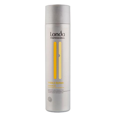 Шампунь для волос `LONDA PROFESSIONAL` VISIBLE REPAIR (для поврежденных волос) 250 млШампуни <br>Мгновенно восстанавливает и питает поврежденные волосы. Выравнивает структуру волос.<br>