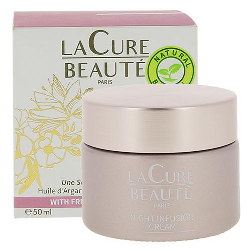 Ночной крем для лица `LA CURE BEAUTE` антивозрастной 50 мл