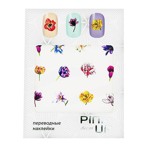 Наклейки для ногтей переводные PINK UP DECOR FLOWERS тон 598
