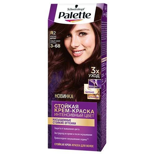 Крем-краска для волос `PALETTE` тон R2 (Красное дерево) 50 млОкрашивание<br>Откройте для себя Стойкую крем-краску Palette с Кератин-Комплексом для длительной интенсивности и богатства цвета.<br>Впервые в комплекте роскошная МАСКА-УХОД сделает Ваши волосы до 2 раз более ухоженными.<br>