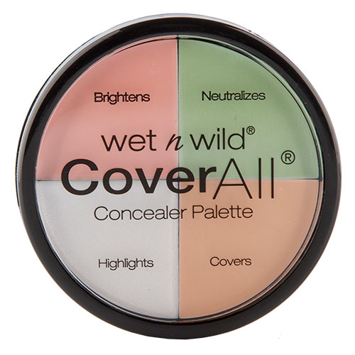 Набор консилеров для лица WET N WILD COVER ALL