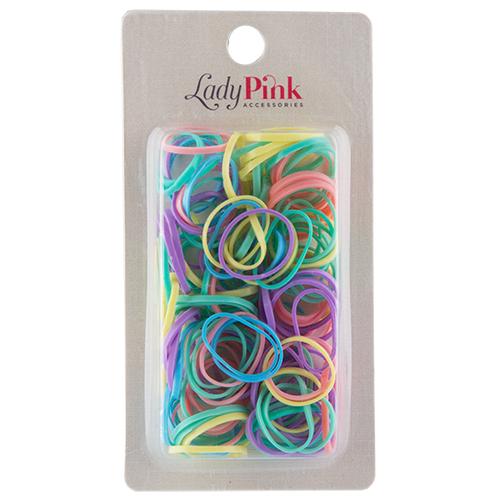 Набор резинок `LADY PINK`Наборы<br>Набор резинок<br>