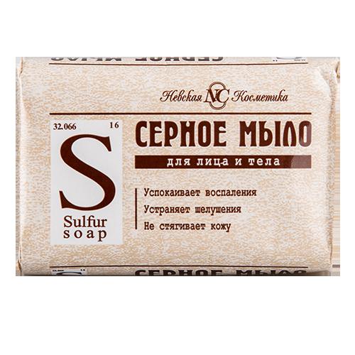 Купить Мыло НЕВСКАЯ КОСМЕТИКА серное 90 г, РОССИЯ/ RUSSIA