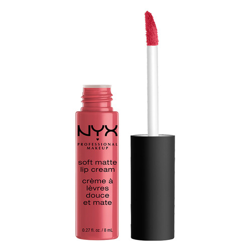 Помада для губ `NYX PROFESSIONAL MAKEUP` SOFT MATTE LIP CREAM тон 08 San Paulo матовая жидкая