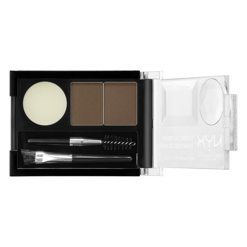 Купить Тени для бровей NYX PROFESSIONAL MAKEUP EYEBROW CAKE POWDER тон 03 TAUPE / ASH, ТАЙВАНЬ/ TAIWAN