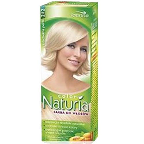 Краска для волос `JOANNA` NATURIA COLOR Благородная жемчужина (тон 212)Окрашивание<br>Стойкая краска для волос с молочными протеинами и персиковым экстрактом. Модные оттенки красок , позволят получить более красивые и глубокие натуральные цвета на долгое время. Надёжно окрашивает седые волосы.<br>
