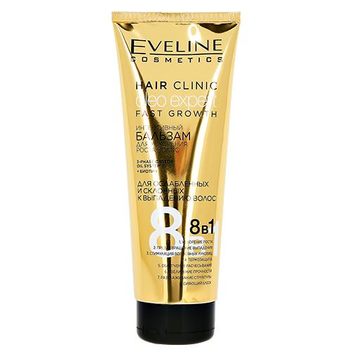 Купить Бальзам для волос EVELINE OLEO EXPERT FAST GROWTH интенсивный для ускорения роста волос 250 мл, ПОЛЬША/ POLAND