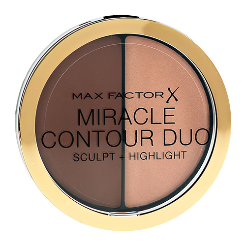 Палетка для контуринга `MAX FACTOR` MIRACLE CONTOURING DUO тон Medium deep