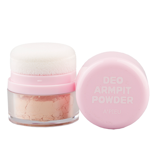 Део-пудра жен. `A`PIEU` DEO ARMPIT  6 грДезодоранты<br>Рассыпчатая пудра для подмышечной зоны устраняет запах пота, уменьшает потоотделение, делает кожу гладкой и шелковистой. Не оставляет пятен и разводов на одежде. Содержит пудру, контролирующую выделение кожного себума, экстракт лимона, экстракт белой лилии, экстракт алоэ, экстракт огурца.<br>