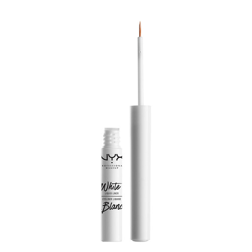 Лайнер для глаз `NYX PROFESSIONAL MAKEUP` WHITE LIQUID LINER тон 01 White жидкий