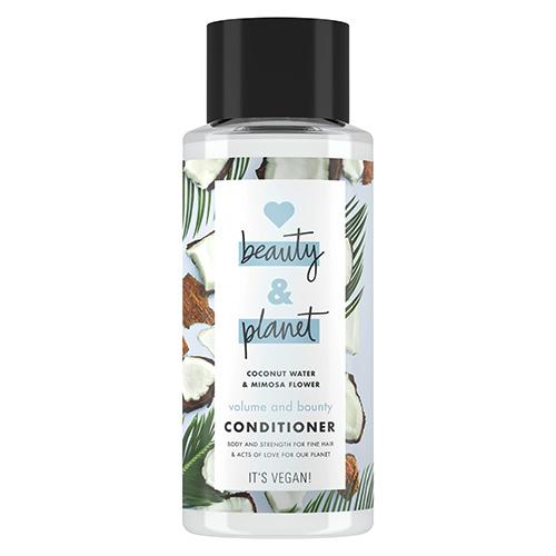 Купить Кондиционер для волос LOVE BEAUTY AND PLANET COCONUT WATER & MIMOSA FLOWER Объем и щедрость с кокосовой водой и цветами мимозы 400 мл, РОССИЯ/ RUSSIA