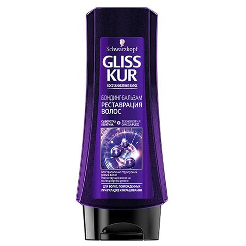Купить Бальзам для волос GLISS KUR РЕНОВАЦИЯ ВОЛОС с технологией omegaplex 200 мл, РОССИЯ/ RUSSIA