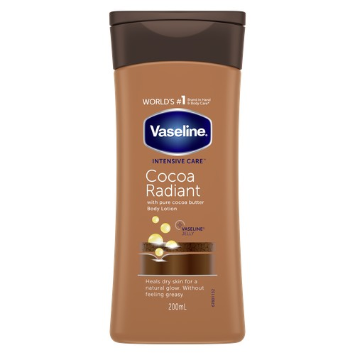 Лосьон для тела VASELINE INTENSIVE CARE с маслом какао 200 мл