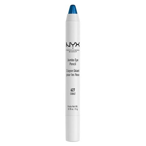 Карандаш для глаз `NYX PROFESSIONAL MAKEUP` JUMBO тон 627 CobaltКарандаши<br>Универсальный продукт, который работает как подводка, тени, а также его можно смело наносить в качестве подложки под любые тени. Благодаря сочетанию воска, масел и пигментов карандаш легко наносится, ровно ложится и дает насыщенный цвет.<br>