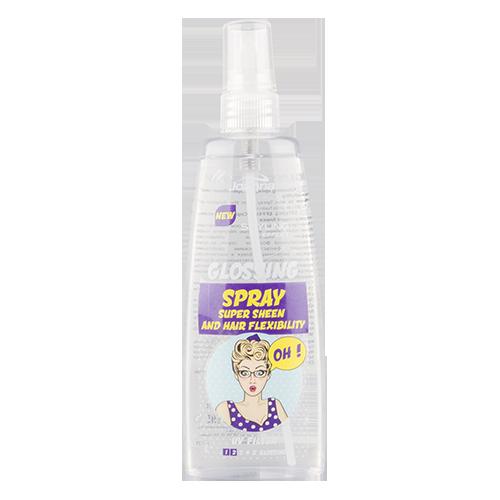 Спрей для укладки волос `JOANNA` STYLING EFFECT придающий блеск с UV фильтром 150 млУкладка<br>Мечтаешь, чтобы твои волосы  изумительно блестели? Теперь можешь получить такой эффект благодаря специально разработанной формуле  спрея, который обладает фантастическими свойствами: придаёт оживляющий блеск и эластичность; сохраняет гладкость и естественность; в состав входит фильтр UV и активные компоненты, которые оберегают волосы от негативного воздействия окружающей среды.<br>