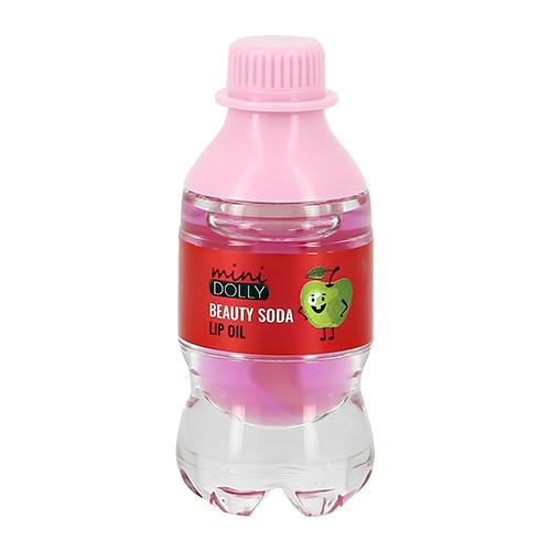 Блеск-масло для губ MINI DOLLY BEAUTY SODA тон Apple boom