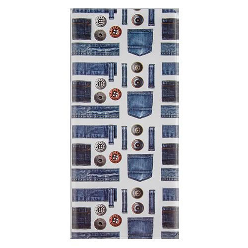 Обложка для документов `KAMCITY` DENIM ПуговицыДеловые аксессуары<br>Оригинальные и стильные аксессуары, которые придутся по душе истинным модникам и поклонникам интересных и необычных дизайнов. Аксессуары выполнены из легкого и прочного материала, который надежно защищает важные документы от пыли и влаги. Дизайны нанесены специальным образом и защищены от стирания. Стильные аксессуары KAMCITY определенно выделят своего обладателя из толпы и непременно поднимут настроение. в ассортименте представлены обложки для документов, визитницы, кошелечки, блокноты.<br>