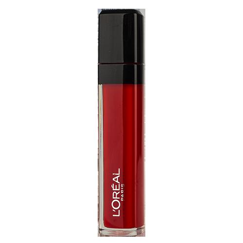 Блеск для губ `LOREAL` INFAILLIBLE тон 106Блески<br>Блеск для губ из серии «Infaillible Мега Блеск Безупречный» от Лореаль Париж способен удовлетворить каприз любой искушенной красавицы. Изобилие оттенков и текстур открывает неограниченные возможности для ярких экспериментов в области макияжа губ: женственные кремовые, обворожительные сверкающие, спокойные матовые или броские неоновые губы. <br>Кремовый оттенок «Безупречный красный» универсален, он отлично подойдет как для неброского дневного макияжа, так и для роскошного вечернего образа. Насыщенность и чувственность алого оттенка приглушена полупрозрачной глянцевой текстурой. Такой цвет будет выигрышно смотреться на девушке с холодным или теплым оттенком кожи.<br>