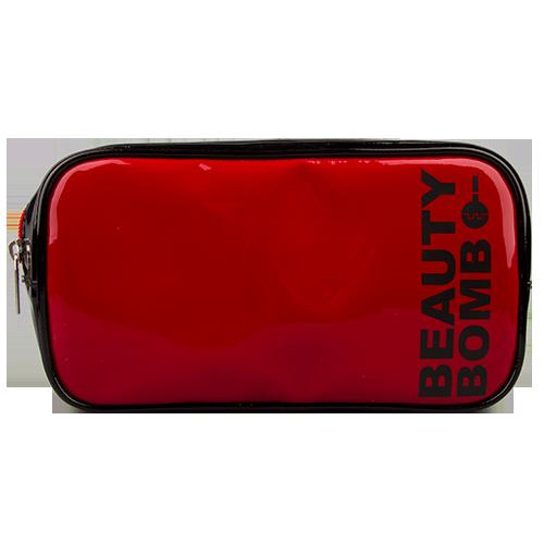 Косметичка `LADY PINK` beauty bomb красная большая прямоугольнаяКосметички<br>Косметичка Lady Pink - стильное и удобное решение для хранения косметики. Большой выбор косметичек разных форм и размеров, а также ярких дизайнов позволит легко выбрать ту, которая подходит именно тебе.<br>