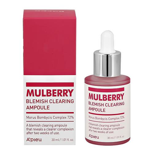 Сыворотка для лица APIEU MULBERRY с экстрактом шелковицы выравнивающая тон кожи 30 мл фото