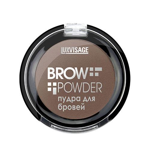 Пудра для бровей `LUXVISAGE` BROW POWDER тон 1 light taupe