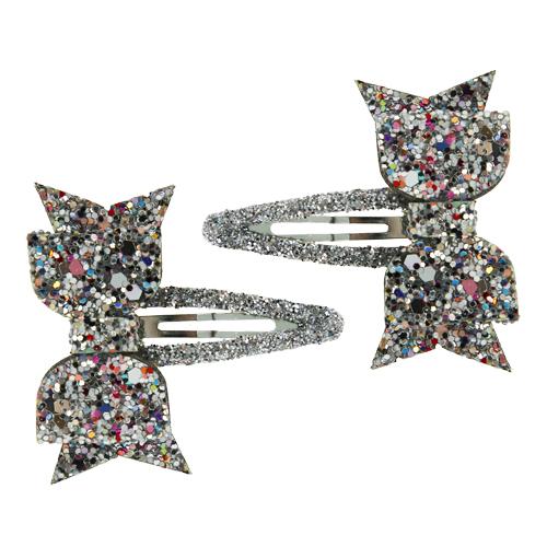 Набор заколок MISS PINKY 2 штНаборы<br>Аксессуары для волос MISS PINKY подчеркнут красоту прически вашей маленькой модницы.<br>