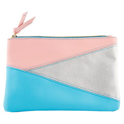 Косметичка `LADY PINK` розовая с мятным и голубым средняяКосметички<br>Косметичка Lady Pink - стильное и удобное решение для хранения косметики. Большой выбор косметичек разных форм и размеров, а также ярких дизайнов позволит легко выбрать ту, которая подходит именно тебе.<br>