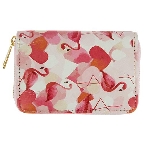Кошелек `LADY PINK` SUMMER VIBES Фламинго маленькийПрочее<br>Яркие кошельки Lady Pink прекрасно дополнят женскую сумочку и позволят Вам выглядеть стильно и модно при любых обстоятельствах!<br>