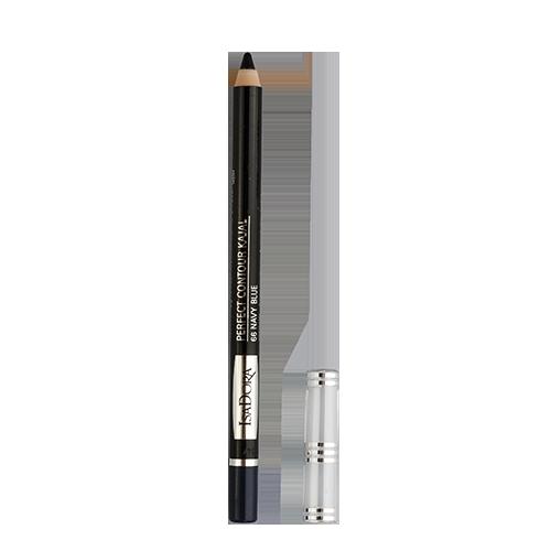 Карандаш для глаз `ISADORA` PERFECT CONTOUR KAJAL тон 66Карандаши<br>Очень мягкий контурный карандаш для глаз. Можно нанести четкую линию или растушевать контур. Не содержит ароматизаторов<br>