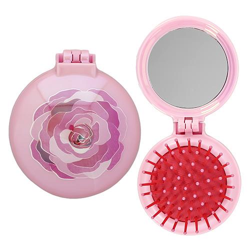 Купить Расческа для волос с зеркалом LADY PINK, КИТАЙ/ CHINA